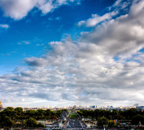 Paris Skyline Minus Eiffel Tower