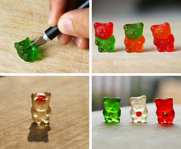 Experimental Gummy Bear Surgeries