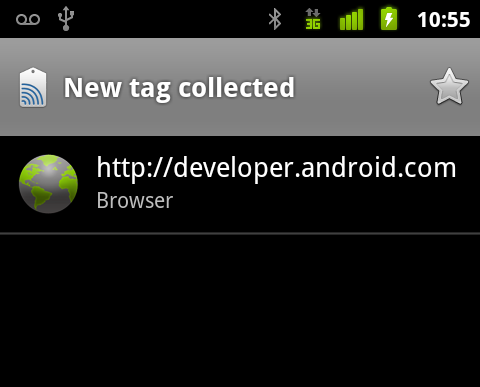 Near Field Communications on Android 2.3